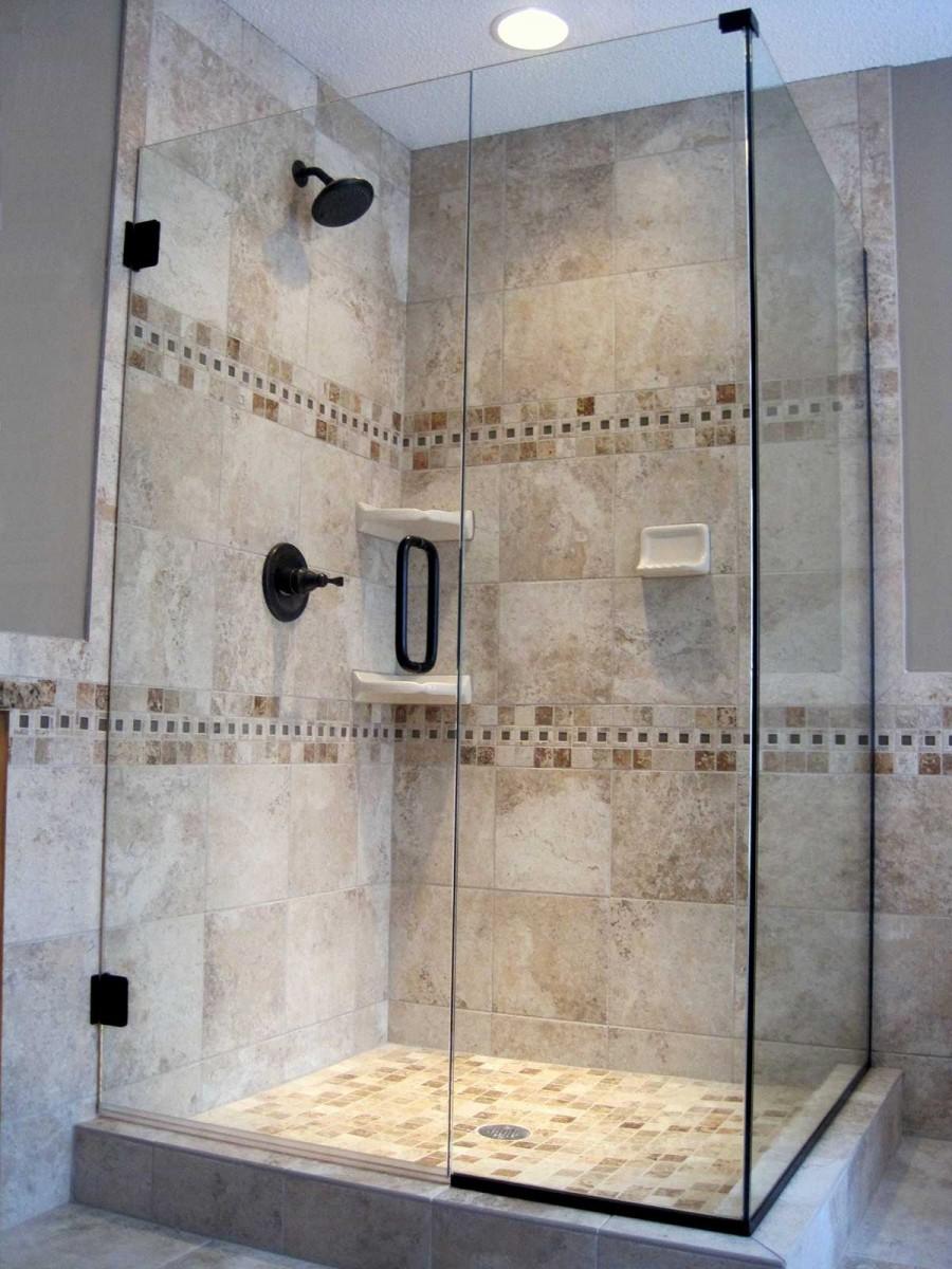 Corner Shower  American Mirror  Glass