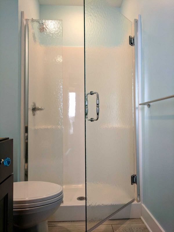 Alcove Shower  American Mirror  Glass