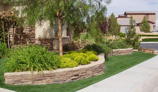 artificial grass landscaping orange