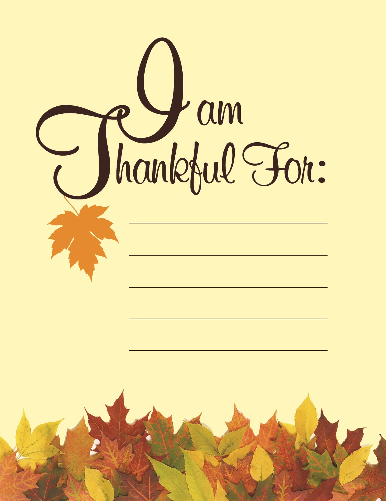 Gratitude This Thanksgiving