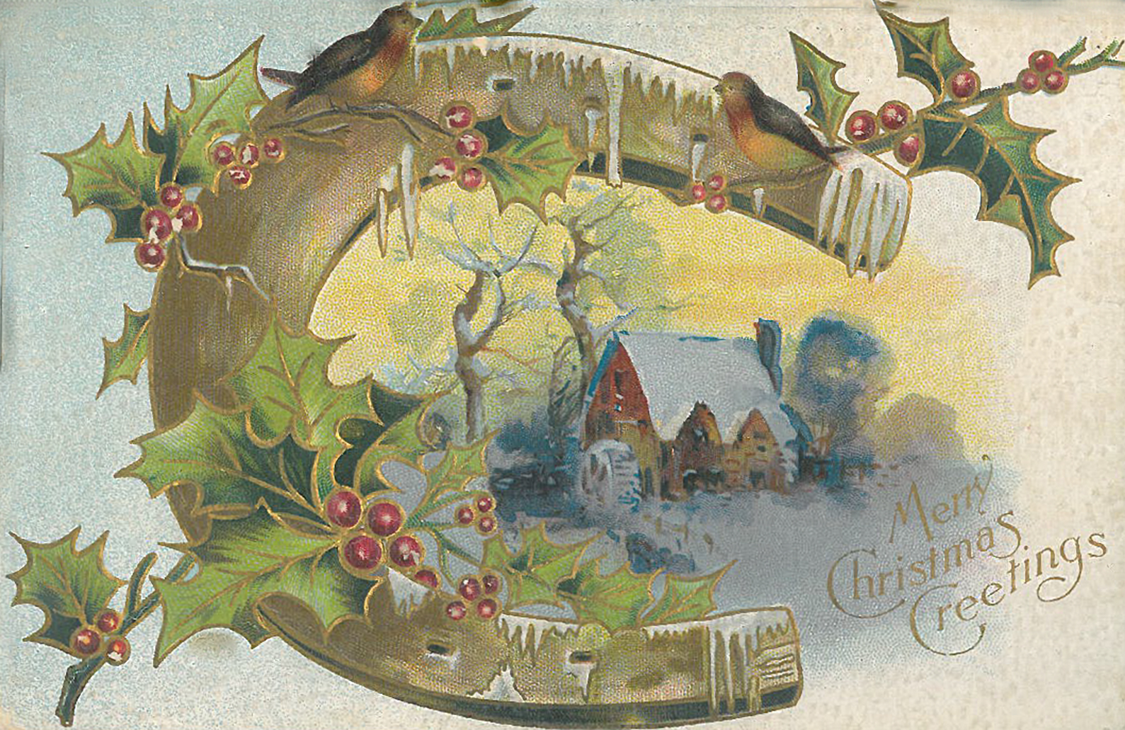 Vintage Christmas Cards American Greetings Archives