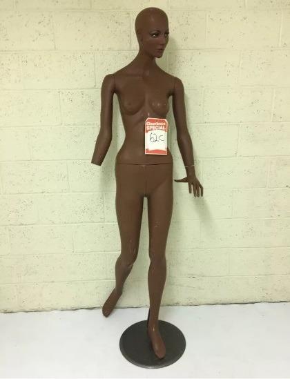 african american female mannequin