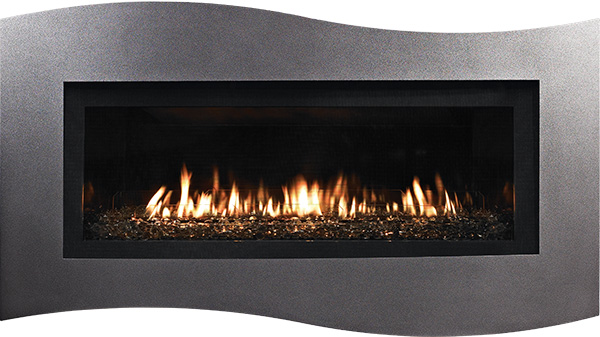 American Hearth Boulevard Traditional Linear Gas Fireplace