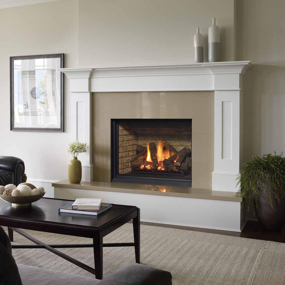 Bellavista B36XTCE Medium Direct Vent Clean Front Gas Fireplace  American Heritage Fireplace