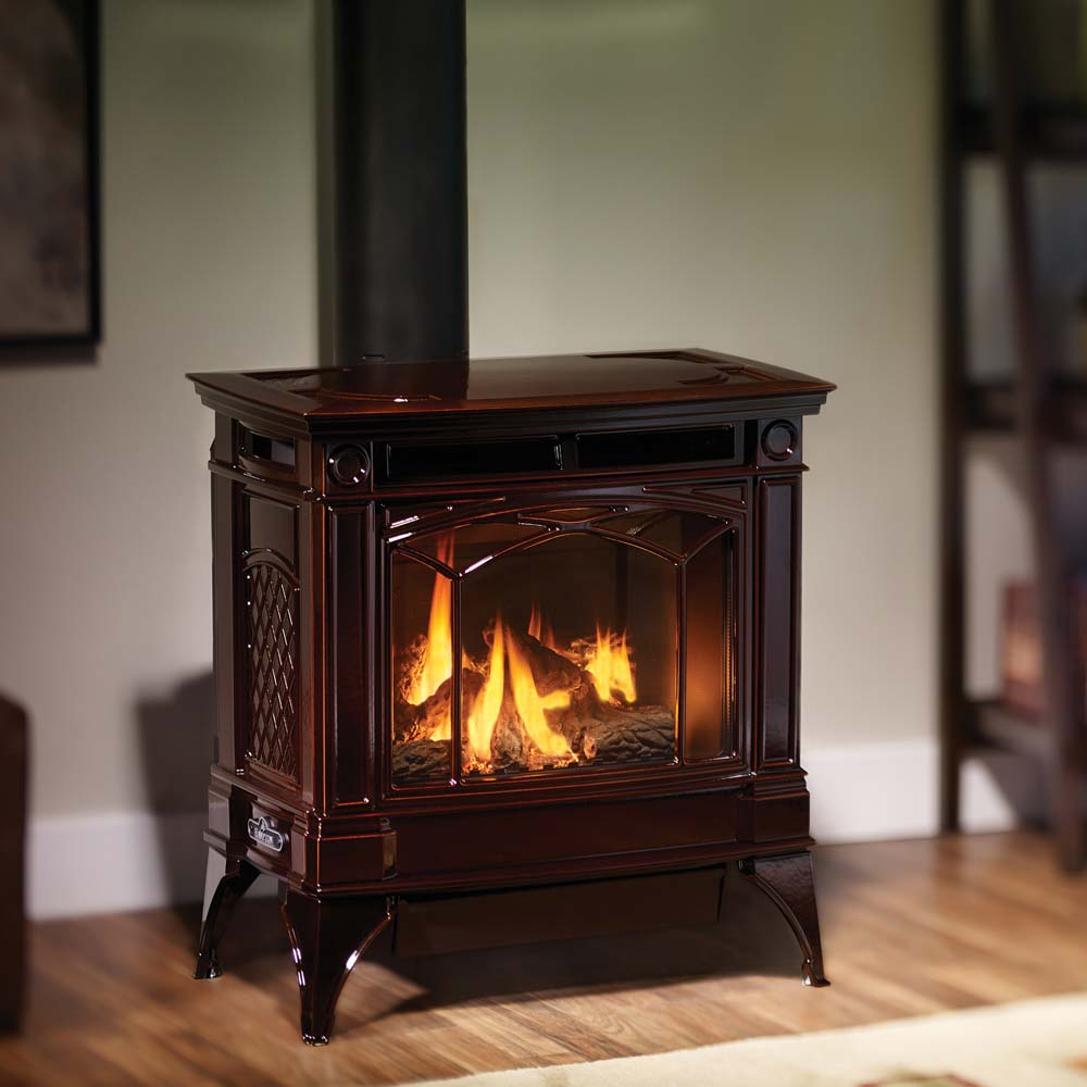 Hampton H35 Large Cast Iron Gas Stove  American Heritage Fireplace
