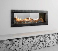 Mezzo Direct Vent Gas Fireplace - American Heritage Fireplace