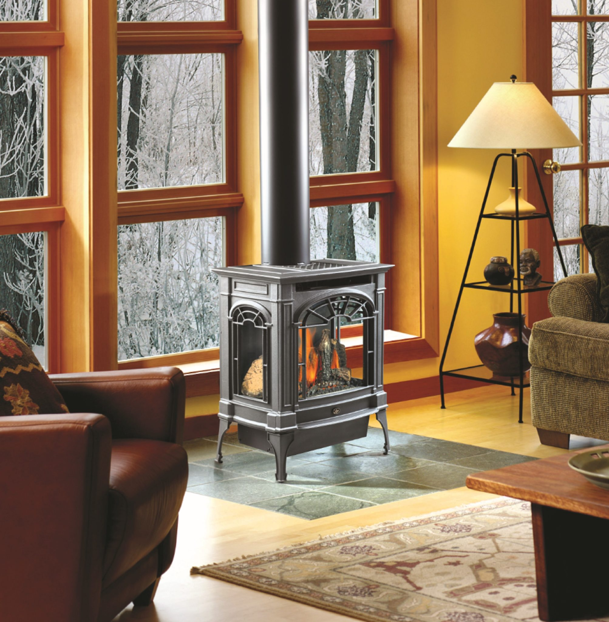 Lopi Northfield Gas Stove American Heritage Fireplace
