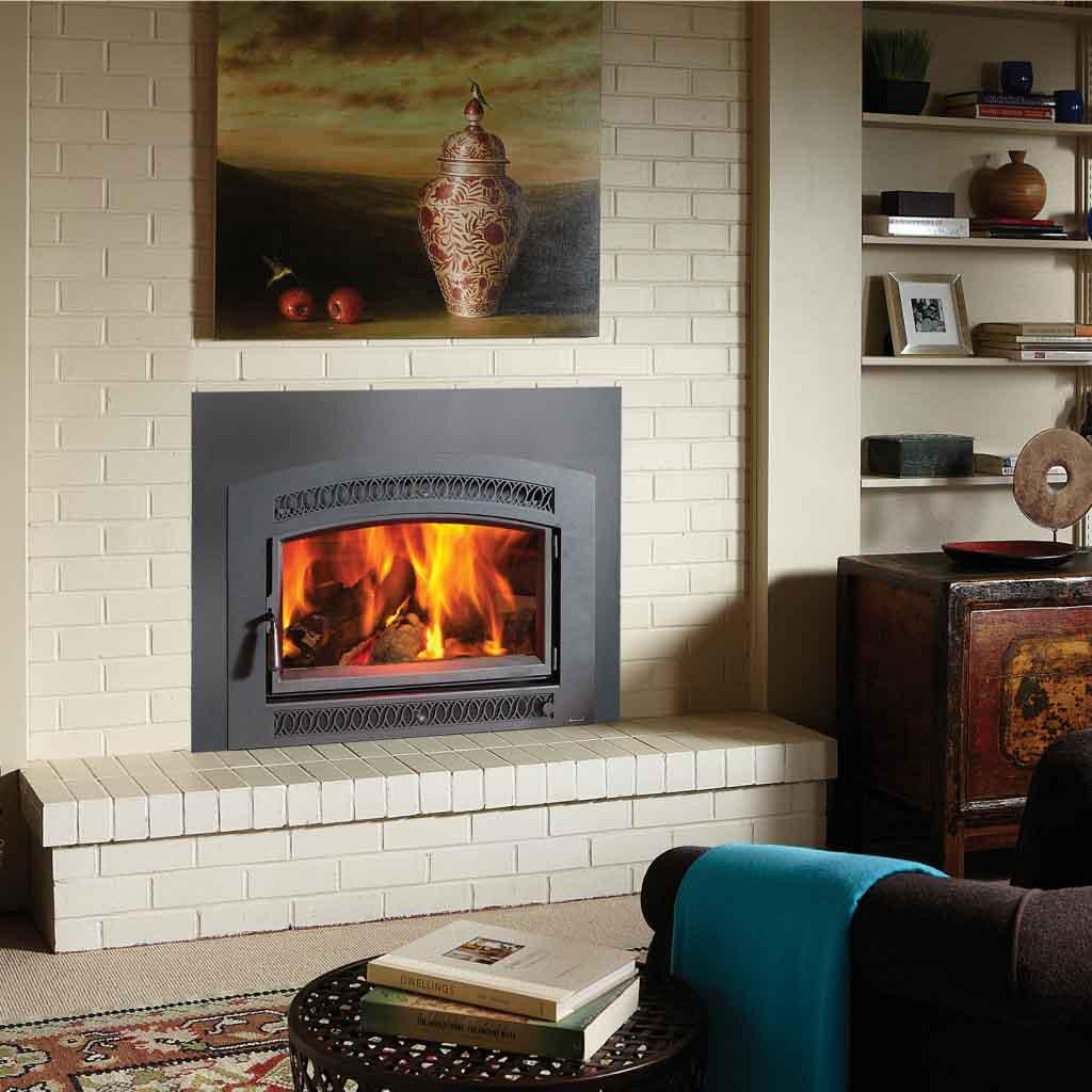 Large Flush Wood HybridFyre Insert  American Heritage Fireplace