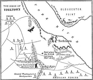 Easy Battle Of Yorktown Map