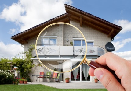 Home in Magnifying glass - American Home Services Orlando FL