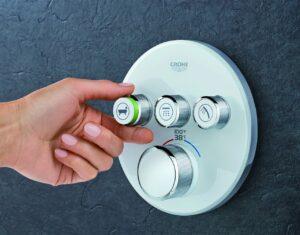 3 shower knobs | American Home Services | bathroom installation Orlando