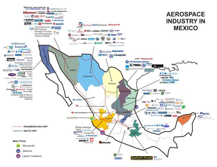 Resultado de imagen de aerospace mexico