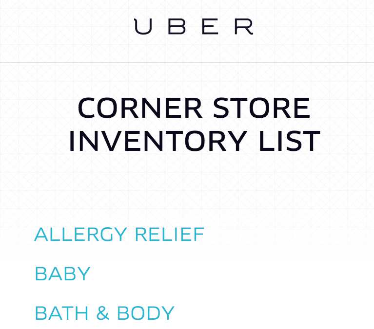 Uber 'Corner Store' Launching in Washington D.C: Would