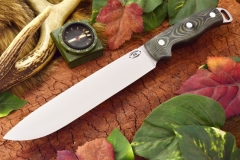 akc denali a2 black and green linen micarta matte 359.95