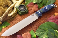 akc denali a2 blue and gold maple burl 1 dlt 409.95