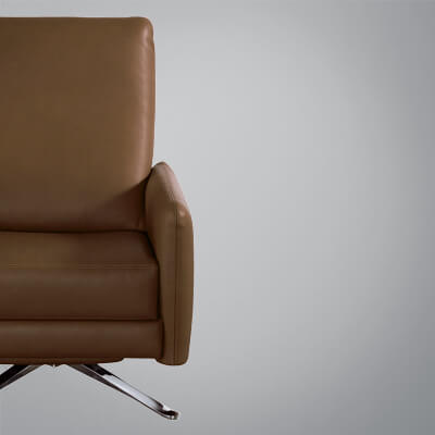 american leather swing chair remote control holder for pattern re invented recliner