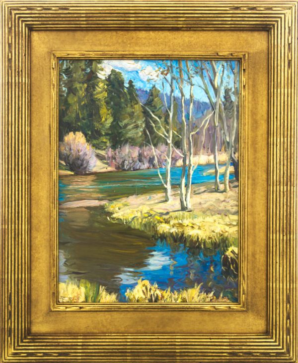 Running Waters; Taos American Legacy Fine Arts