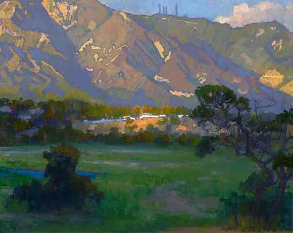 Quiet Shadows; Arroyo Seco American Legacy Fine Arts