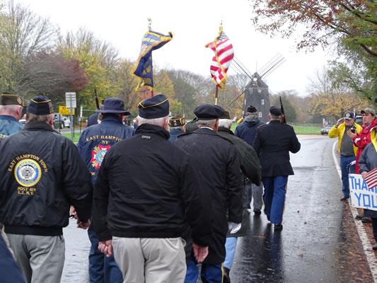 2015 Veterans Day Parade American Legion East Hampton