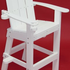What Are Pool Chairs Made Out Of Barrel Chair Cushions Tailwind Lifeguard American Lg 500 Equipment Recycled Plastic Small White