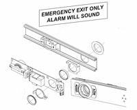 Von Duprin 22ALK, 22 Series Alarm Kit