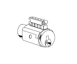 Schlage 29-017 5 Pin Conventional Cylinder For F Series