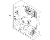 LCN 7982 Dual Control Box w/ built-in air pump