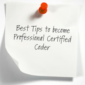 Awesome tips to become a Certified Professional Coder