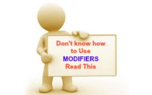 Kickass tips for Modifiers used in Medical Coding