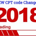 New CPT codes changes of 2018 for Medical coders