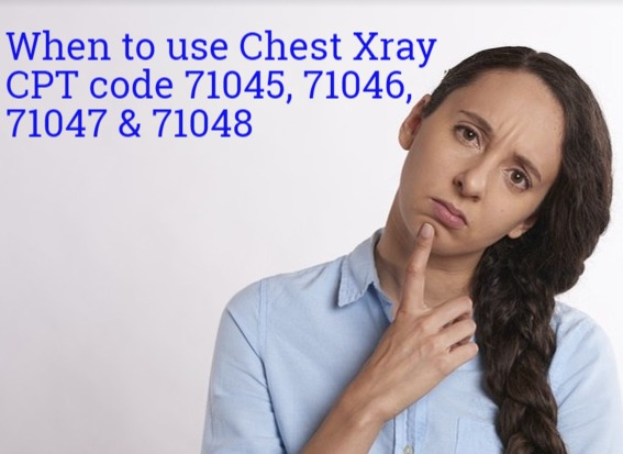 How To Code Kub Cpt Code 71045 71046 71047 And 71048 Medical