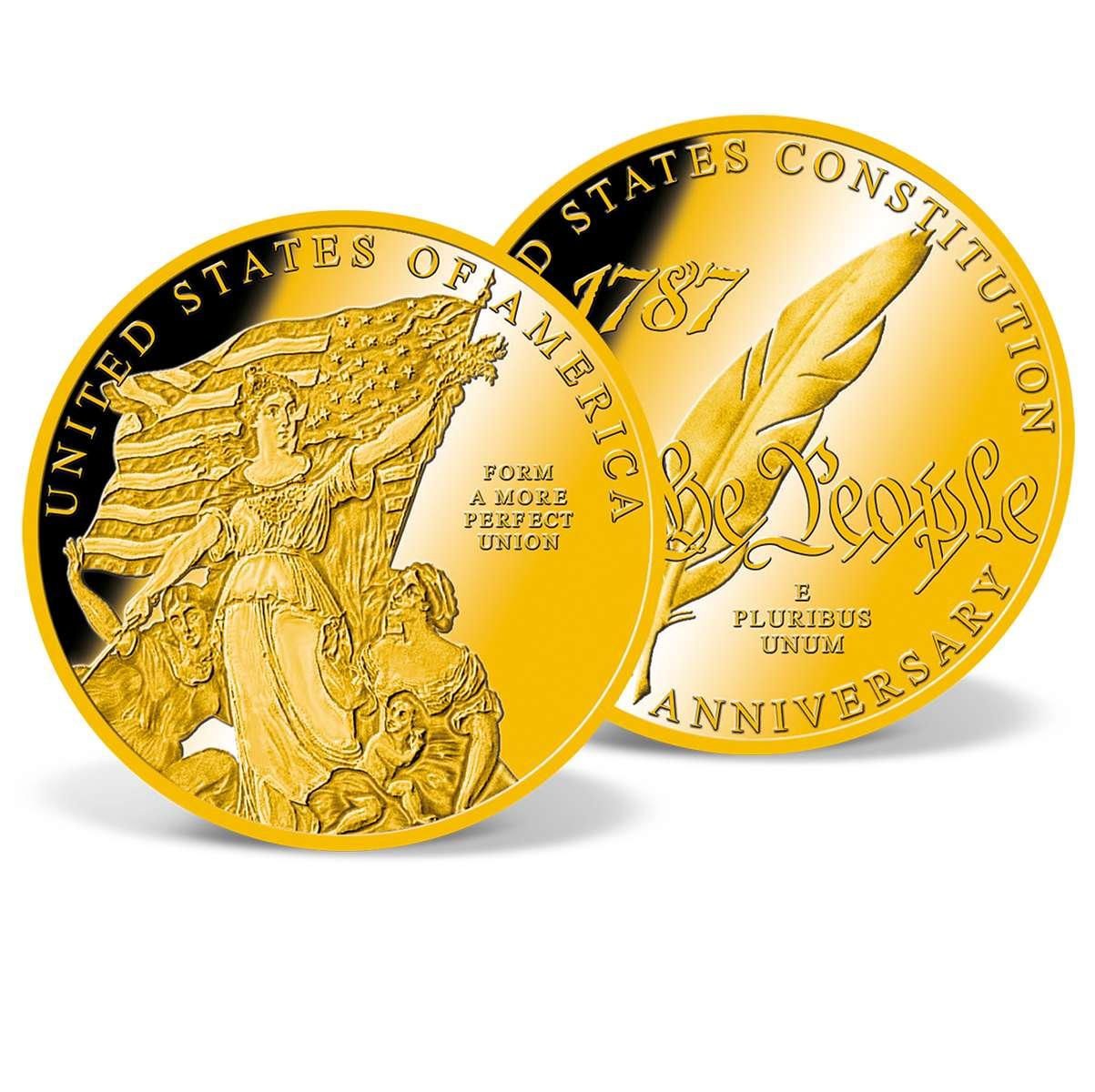 Form A More Perfect Union Commemorative Gold Coin