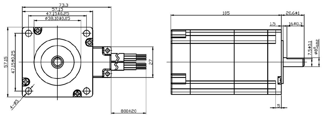 Leadshine EasyServo 2Nm NEMA 23 (Closed Loop Stepper motor