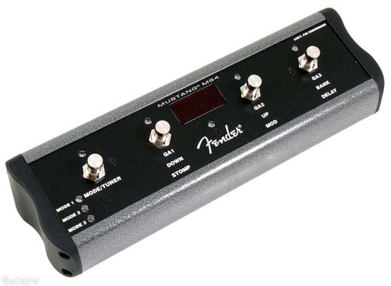 Fender 4 Button Footswitch For Mustang Iii Iv V