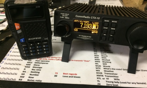 CommRadio CTX-10: Tiny Radio, Huge Capability