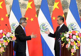 China building stronger ties in El Salvador