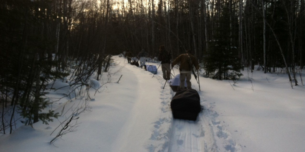Snow Shoe Comparison & Out of the Box Review –  Northern Lites and MSR Military Surplus