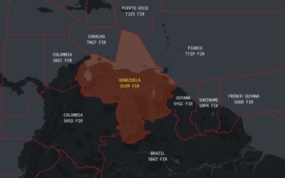 FAA Has Restricted Airspace Around Venezuela