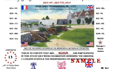 13 Colonies Amateur Radio Contest