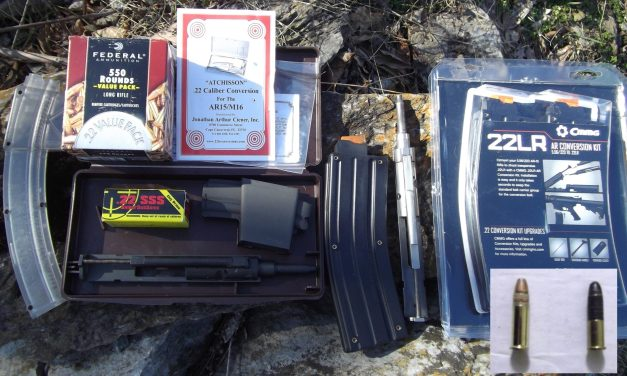 """Adapting To Survive"": Firearms-Part 2, The AR-15 to .22LR Conversion Kit"