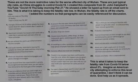 CHINESE COVID-19 QUARANTINE RULES
