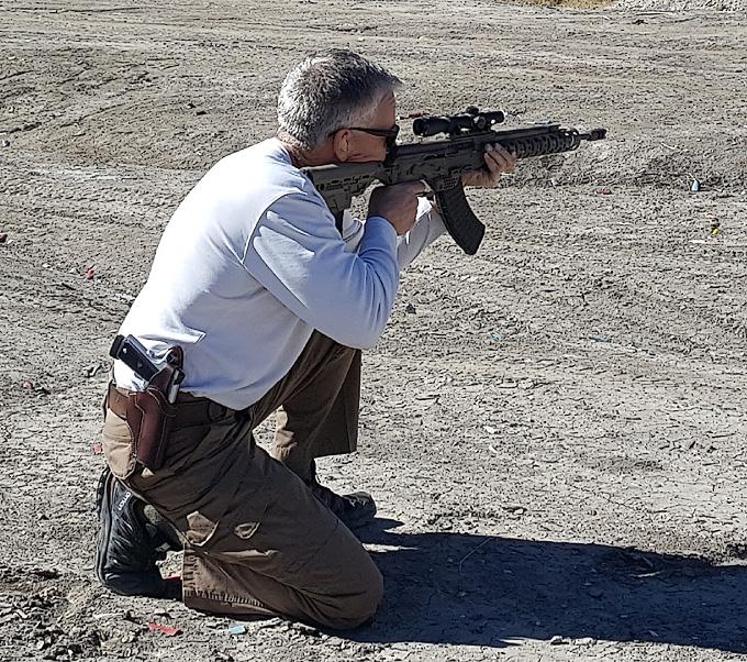 Dave Lauck Sends: D&L Custom SLR/Carbine