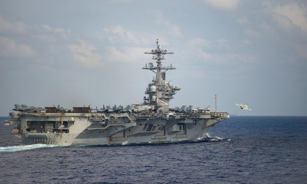 USS Theodore Roosevelt Under Quarantine