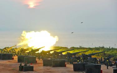 China's Building Aggression Towards Taiwan