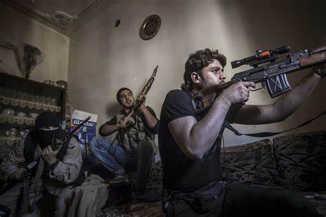 Bracken Sends: Snipers of Aleppo