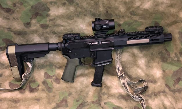 Stern Defense 9mm AR Pistol build