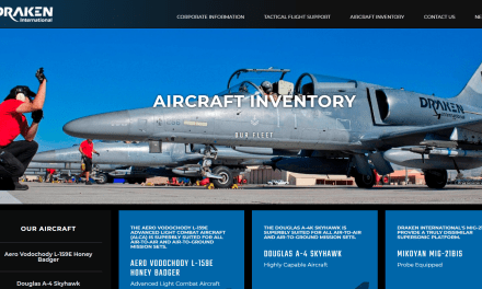 "EXCLUSIVE: Private company offering ""contract air support"" using military jet fighters located in Lakeland, FL where live air-to-air missile was just found"