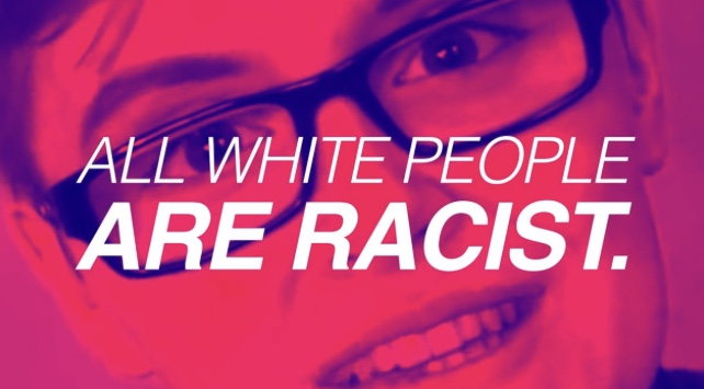 University Director says all white people are racist.