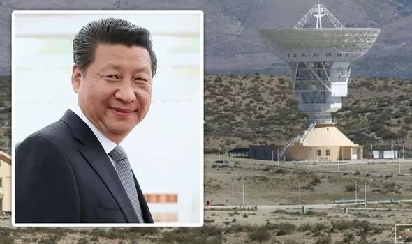 Chinese Military Station in Argentina