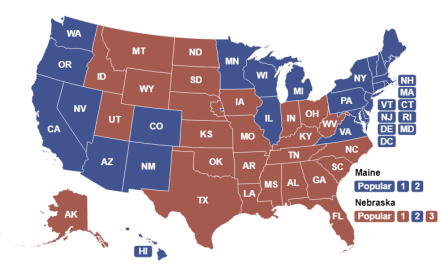 Electoral College Interactive Map